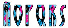Alfabeto Monster High con fondo de rombos. | Oh my Alfabetos!