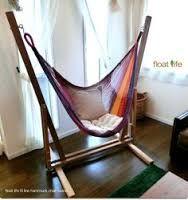 Resultado de imagen de hammock chair stand diy