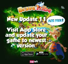Brave Tribe – new update, with iPhone support http://wp.me/p3VpPC-6A #bravetribe #happytale #mobile