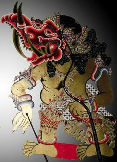 Collection of : Karaton Ngayogyakarta Hadiningrat. Puppet Toys, Puppet Crafts, Indonesian Art, Javanese, Indian Crafts, Shadow Puppets, Weird Creatures, Yogyakarta, Shadows