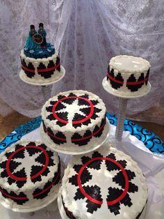 wedding cakes pictures navajo | Navajo basket wedding cake