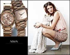 Nixon Watches: For the lady who lives a laidback yet glamorous, surf-and-turf lifestyle. #nordstrom