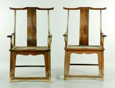 Chinese Huanghuali Wood Chairs