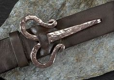 Viking Belt Buckle- Copper