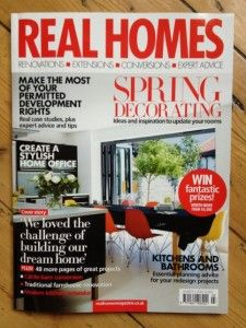The Kitchen Dresser Company feature in the March 2014 issue of Real Homes magazine