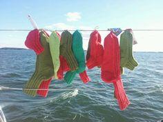 Veneilijän villasukkia joka koossa