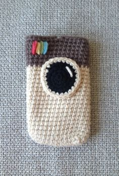 Crochet iPhone Instagram Case --Fits iPhone 4s and 5 by Yummygurumi, $10.00