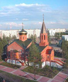 Храм «Преображение Господне» г. Муравленко 2-28 апреля 1998г