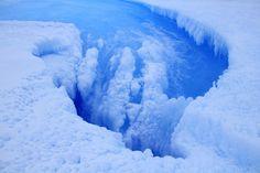 Hay un cráter inmenso en la Antártida, y es una muy mala noticia