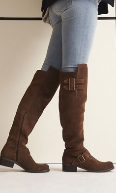 Image result for cheap over the knee boots with buckles
