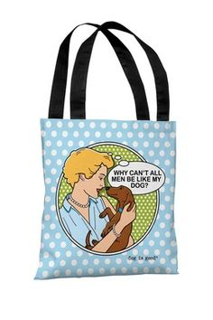 Why Can't All Men Polyester Tote Bag