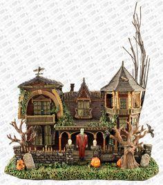 Hawthorne Halloween Village Munster's House 1313 Mockingbird Lane