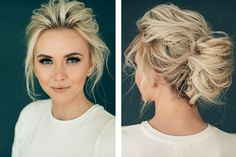Portfolio Hair and Makeup by Steph Bride Hairstyles Hair Makeup portfolio Steph Fancy Hairstyles, Bride Hairstyles, Hairstyles 2016, 1930s Hairstyles, Hairstyle Ideas, Short Hair Updo, Curly Hair Styles, Casual Updos For Medium Hair, Bob Updo