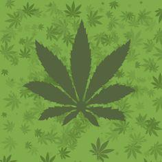 Fondo animado 3D de Marihuana