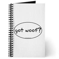 got woof? Journal