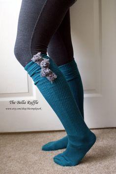 Boot Socks Turquoise