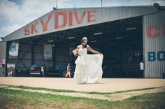 Skydiving your wedding!