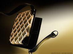 Malette en cuir 'Transparent' Design by Didier VERSAVEL - Compagnon du devoir