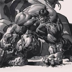 The Hulk by Mike Deodato Jr. *