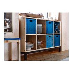 NORNÄS Sideboard-Grundelement, Kiefer, grau - - - IKEA