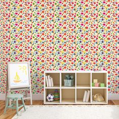 Jubilee Removable WallPaper is peel and stick. It is the easiest and quickest way to decorate any room in your home.