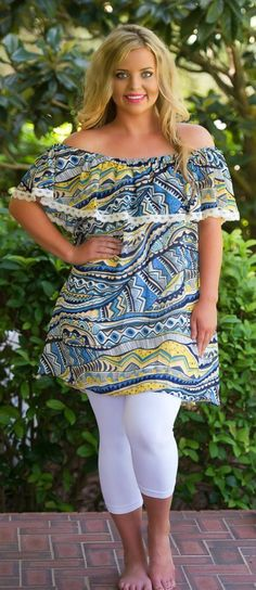 Read Between The Lines Dress / Tunic - Perfectly Priscilla Boutique