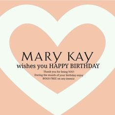 Sharw with your customers www.marykay.com/brittfree mary kay birthday