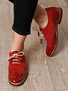 Cone heels lace open toe stockings,oxford shoes for men pointed shoes pictures,black suede knee high boots heel red cowgirl boots. Red Shoes, Cute Shoes, Me Too Shoes, Fall Shoes, Shoe Boots, Shoes Sandals, Flats, Saddle Shoes, Ankle Boots