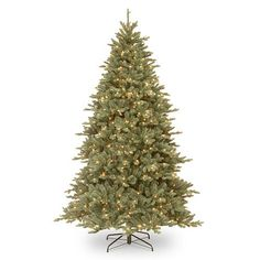 7.5-ft. ''Feel Real'' Pre-Lit Auburn Spruce Artificial Christmas Tree