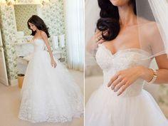 Oscar De La Renta #Wedding Gown