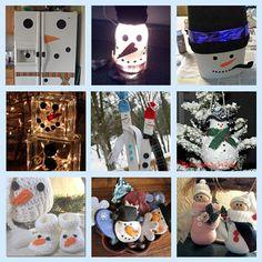 9 snowman crafts