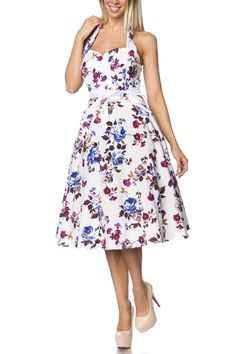 5d922908e8ba Vintage-Dress 14733 - www.atixo.de Modische Kleider, Vintage Kleider,