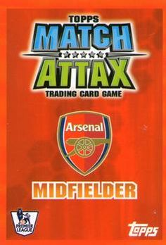 2007-08 Topps Premier League Match Attax #11 Tomas Rosicky Back