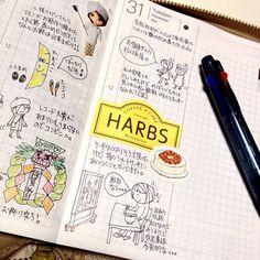 amidwinternd:    絵日記倶楽部の練習最終日!(・∀・)ノ #hobonichi #ほぼ日手帳 #絵日記倶楽部  2014年がもうすぐはじまります。