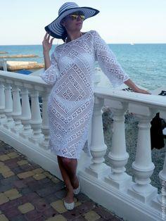 "Туника-платье ""Променад"" - Наталья Седова - Ярмарка Мастеров http://www.livemaster.ru/item/10726967-odezhda-tunika-plate-promenad"