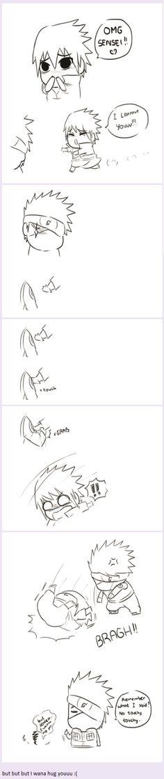 <3 Kakashi & Sasuke - by petcow, tumblr