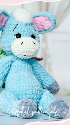 Crochet Zebra Pattern, Newborn Crochet Patterns, Plush Pattern, Crochet Animal Patterns, Stuffed Animal Patterns, Crochet Patterns Amigurumi, Crochet Animals, Handmade Ideas, Handmade Toys