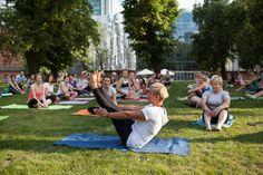 WF w Parku - Joga #wf #park #joga #chill #starybrowar #lato