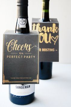 get this easy hostess gift wine bottle neck tag printable