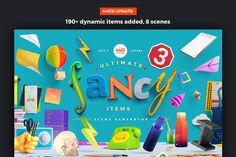 Fancy Items Scene Generator by LStore on Creative Market