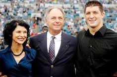 Tim Tebow and his parents
