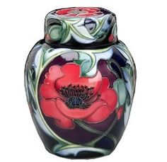 Moorcroft Pottery (such a weakness for ginger jars!)