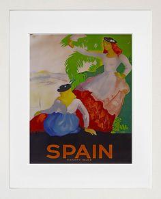 Spain Art Print Travel Spanish Home Decor Poster by Blivingstons, $8.99