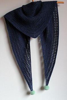 MES FAVORIS TRICOT-CROCHET: Modèle gratuit : Un  châle ajouré au tricot PAP PAP