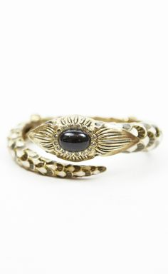 Roberto Cavalli White, Black And Gold Multicolored Bracelet