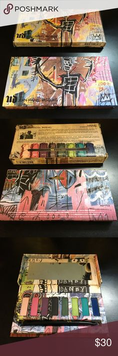 Urban Decay Jean-Michel Basquiat Palette Shades have been swatched, but never used. Basically brand new. LE item. Urban Decay Makeup Eyeshadow