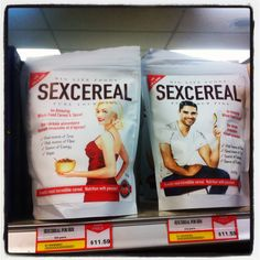 Gendered Cereal (click thru for analysis)  Courtesy of SI    I honestly don't even know where to start on this one.