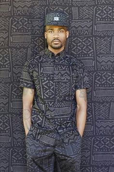 African Print on Print Menswear African Fashion Designers, African Inspired Fashion, African Dresses For Women, African Print Fashion, Africa Fashion, African Attire, African Wear, African Women, Fashion Prints