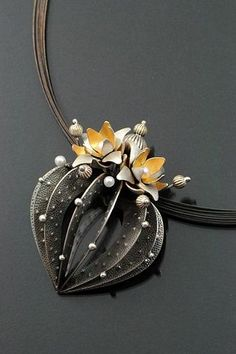 Sooyoung Kim Strombo Cactus Necklace