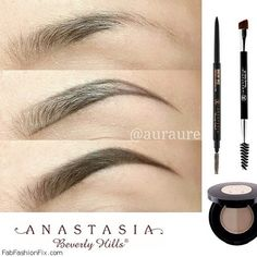 FabFashionFix - Fabulous Fashion Fix Beauty How to shape eyebrows with eyebrow kit All Things Beauty, Beauty Make Up, My Beauty, Beauty Nails, Hair Beauty, Love Makeup, Makeup Tips, Nagel Hacks, Eyebrow Kits